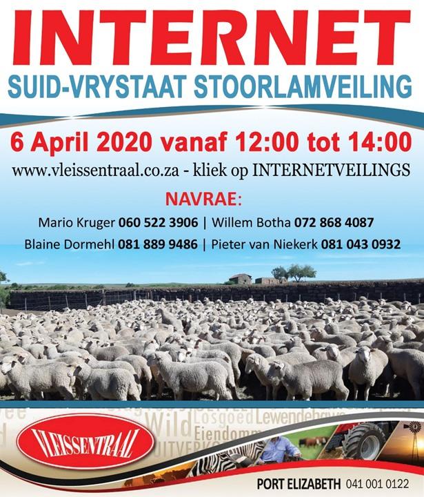 Suid-Vrystaat Internet Stoorlamveiling